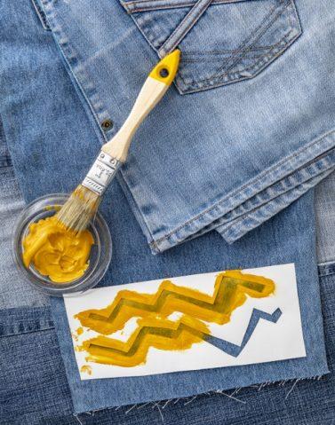 kleding jeans verven